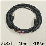 10m Standard XLR Mic Cable