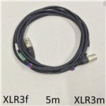 5m Standard XLR Mic Cable
