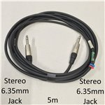 5m Stereo 6.35mm Jack Cable