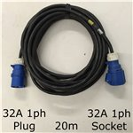 20m 32A 1ph Cable